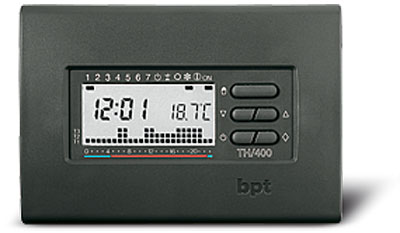 Termostato digital programable BPT TH400 Gris oscuro