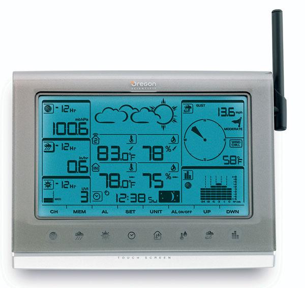 Estaci n meteorol gica oregon scientific wmr200 - Estacion meteorologica carrefour ...