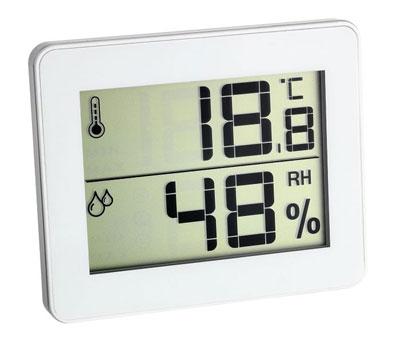 Termohigrómetro digital TFA 30.5027 Blanco