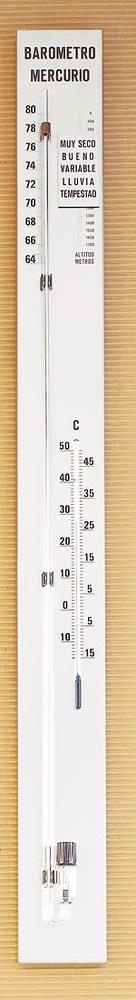 Barómetro de mercurio Torricelli T15H