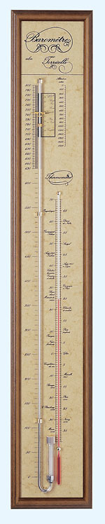 Barómetro de mercurio Torricelli T2701