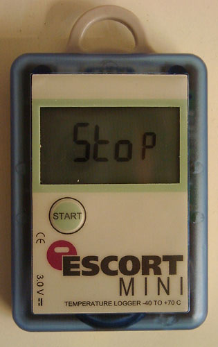 Data logger ESCORT MINI MI-IN-D-2-L