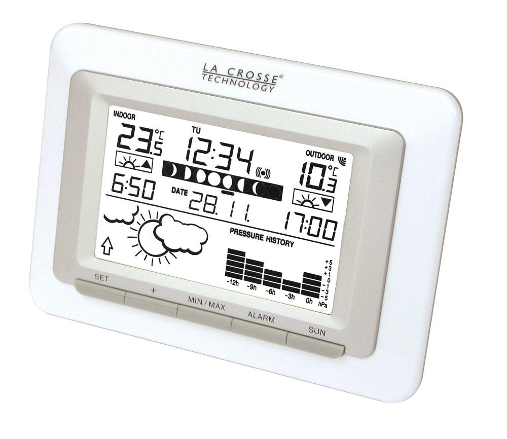Estaci n meteorol gica la crosse ws9250 estaciones - Estacion meteorologica precio ...