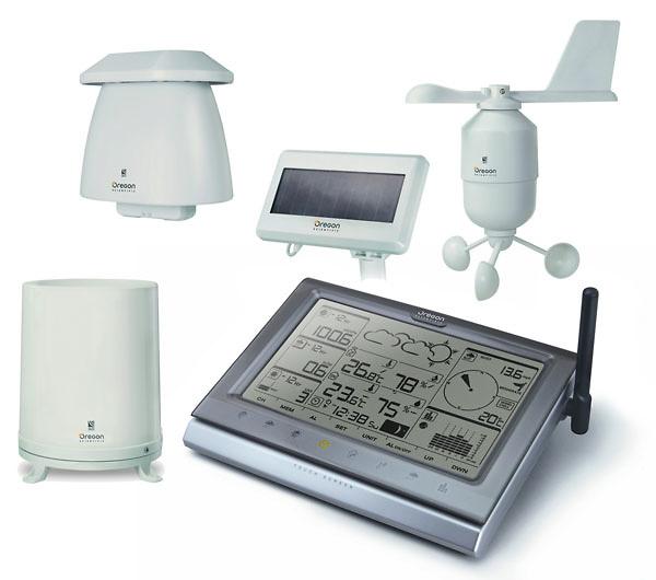 Consola y sensores