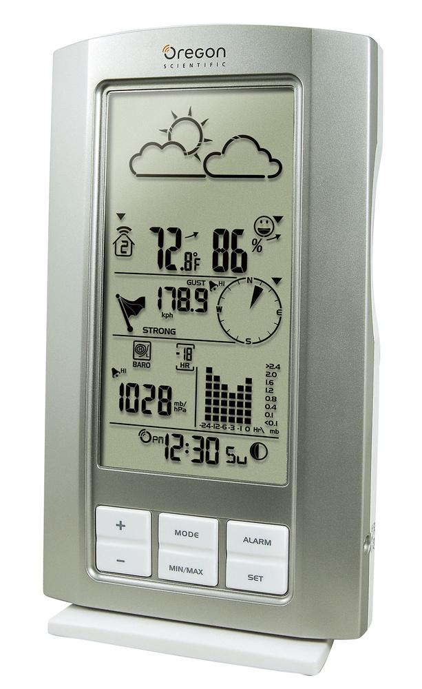 Estaci n meteorol gica oregon scientific wmr80 - Estacion meteorologica oregon ...