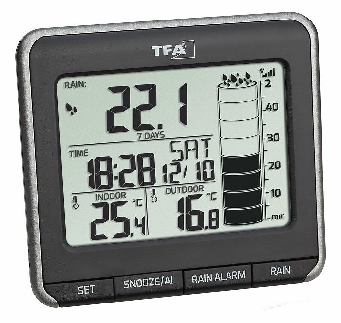 Pluviómetro digital TFA 47.3004