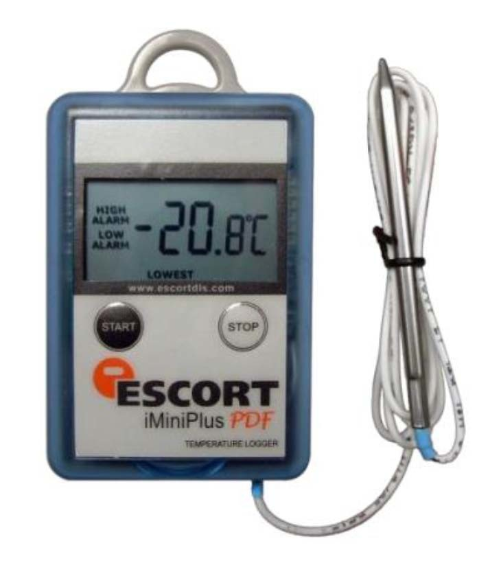 Registrador data logger ESCORT MP OE N 8 L sensor externo baja temperatura