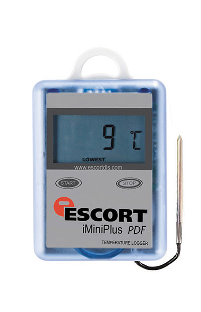 Registrador data logger de temperatura ESCORT MINI MU OE D 16 L sensor externo