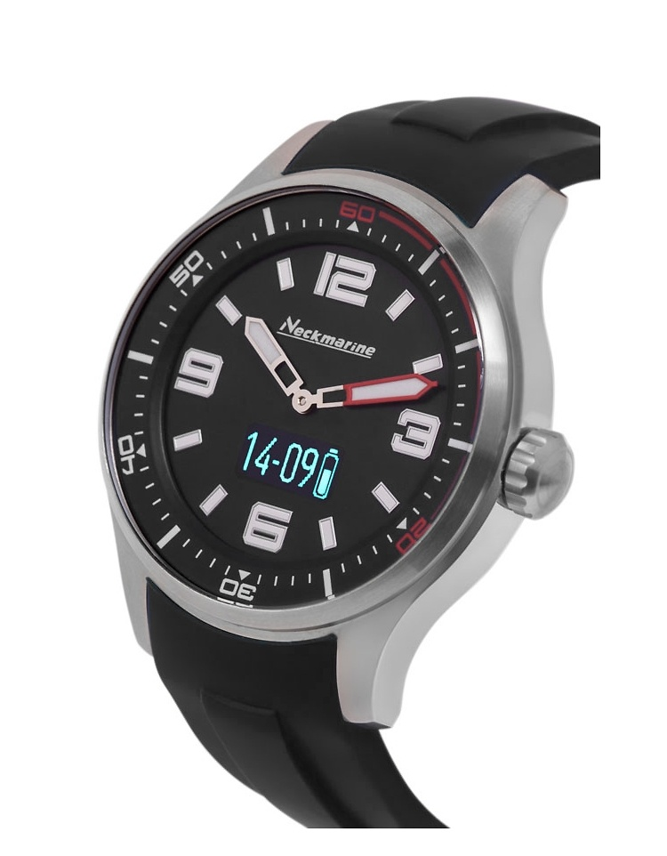 Smartwatch Neckmarine negro