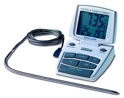 Term metro digital tfa profesional industrial for Termometro digital cocina