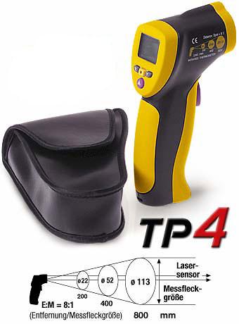 Termómetro infrarrojos TROTEC TP4