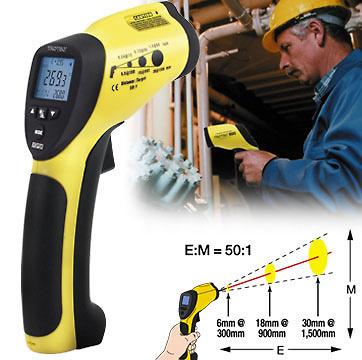 Termómetro infrarrojos TROTEC TP8