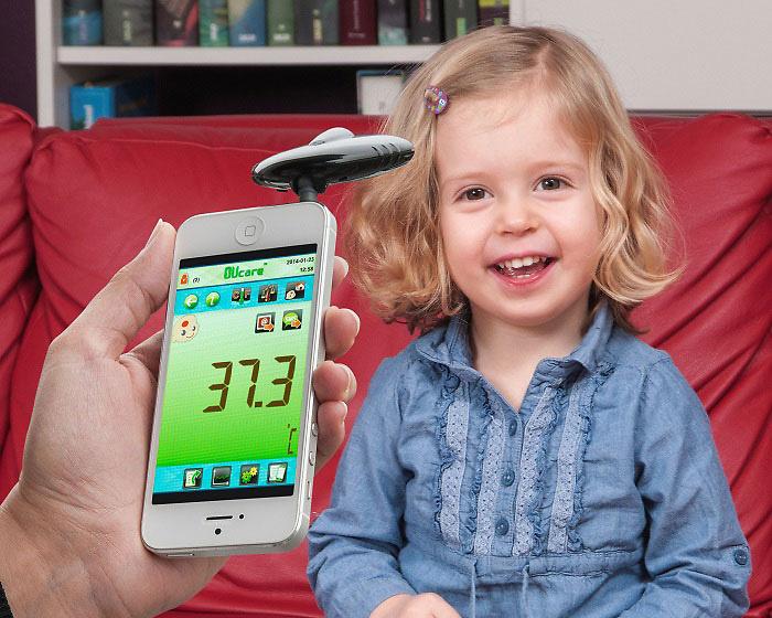 Termómetro infrarrojos para smartphone TFA 31.1133.01