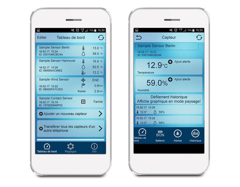 Termómetro para smartphone La Crosse MA10001