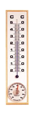 Termohigrómetro analógico 451H