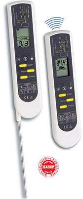 Termometro digital certificado dostmann for Termometro cocina profesional