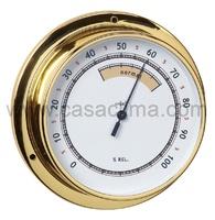 Higrómetro dorado 120/95