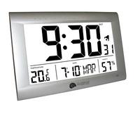 Reloj termohigrómetro gran formato La Crosse WS8009